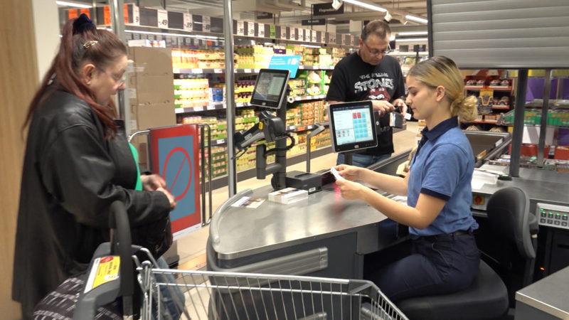 Volle Supermärkte vor dem Osterwochenende? (Foto: SAT.1 NRW)