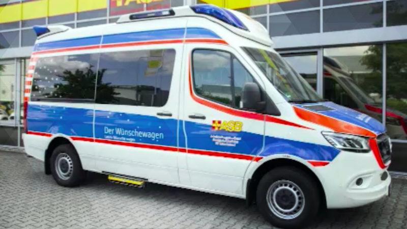Wünschewagen hilft todkranken Menschen (Foto: SAT.1 NRW)