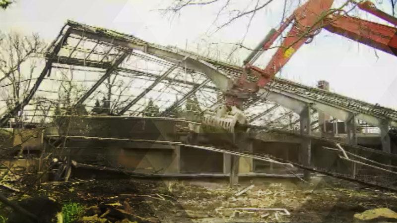 Affenhaus wird abgerissen (Foto: SAT.1 NRW)