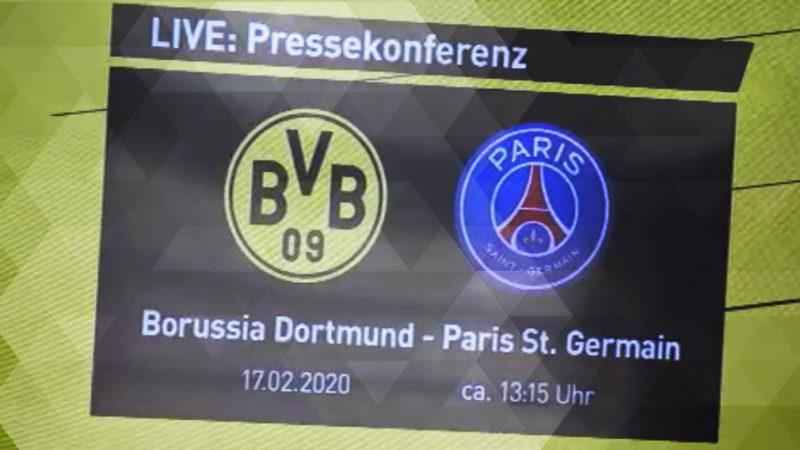 BVB gegen Paris Saint-Germain (Foto: SAT.1 NRW)
