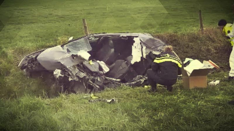 Unfall nach Automatensprengung (Foto: SAT.1 NRW)