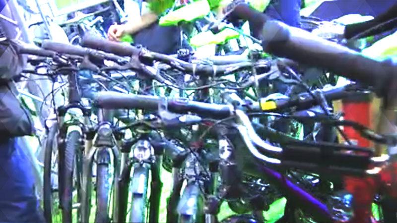 Trends von der Fahrradmesse (Foto: SAT.1 NRW)