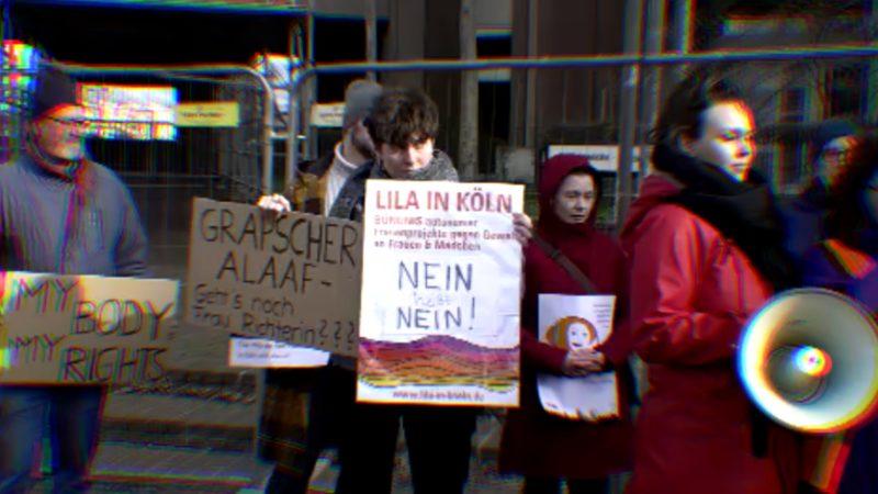 Demo gegen sexuelle Gewalt (Foto: SAT.1 NRW)