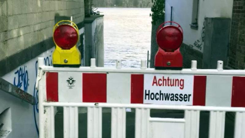 Hochwasser in NRW (Foto: SAT.1 NRW)