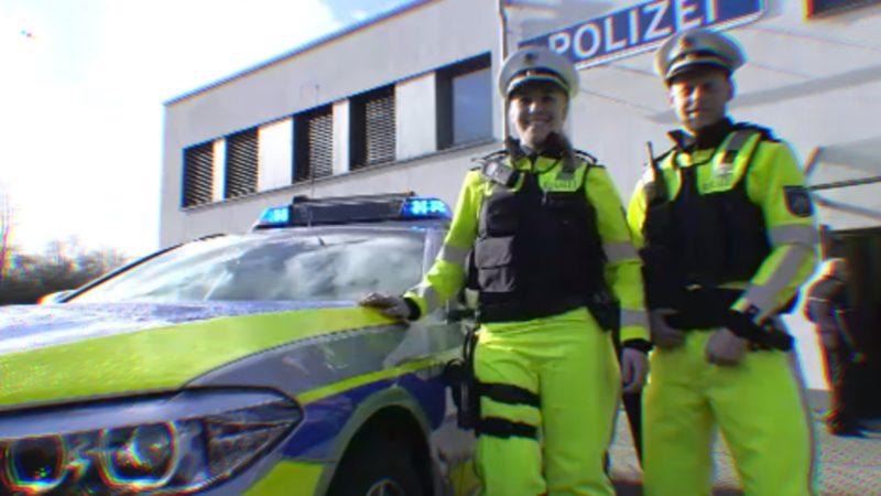 Neue Uniform für Autobahnpolizei (Foto: SAT.1 NRW)