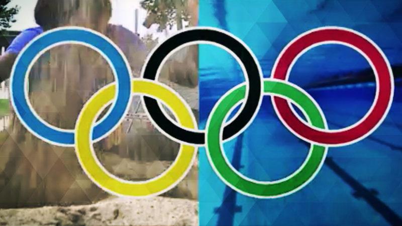 Olympioniken ohne Publikum (Foto: SAT.1 NRW)