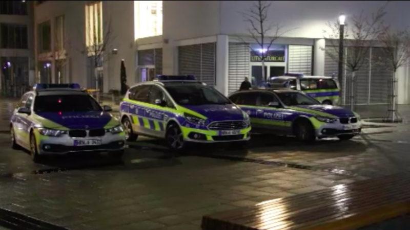 Bombendrohung gegen Bielefelder Hotel (Foto: SAT.1 NRW)