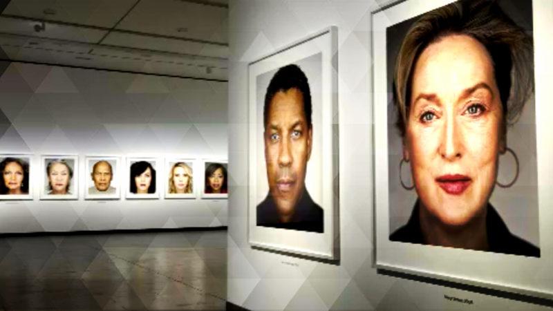 Ausstellung zeigt Promi-Portraits (Foto: SAT.1 NRW)
