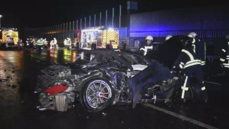Unfall mit SUV (Foto: SAT.1 NRW)