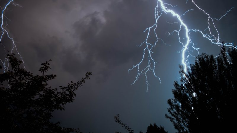Unwetter-Chaos in NRW (Foto: SAT.1 NRW)