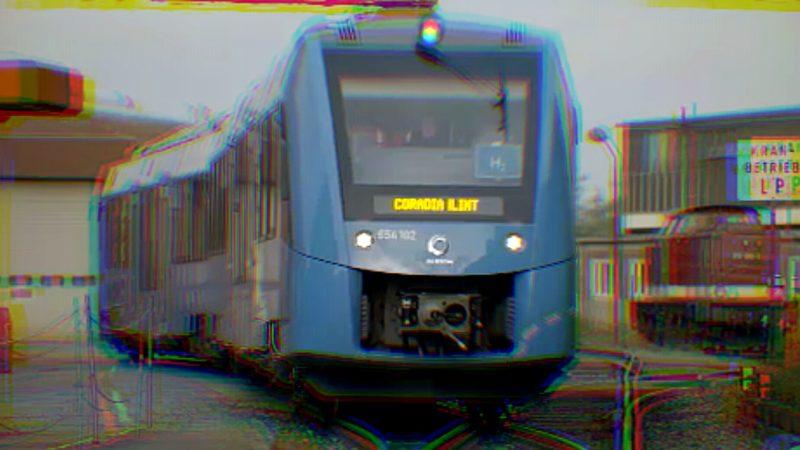 Zug fährt mit Wasserstoff (Foto: SAT.1 NRW)