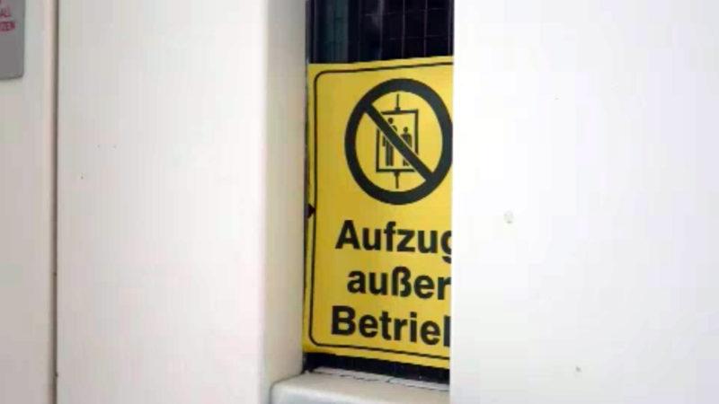 Gefangen in der eigenen Wohnung (Foto: SAT.1 NRW)