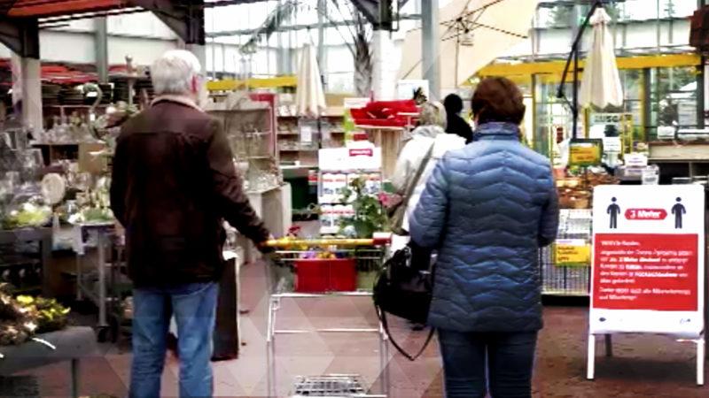 Shopping im Baumarkt trotz Corona (Foto: SAT.1 NRW)
