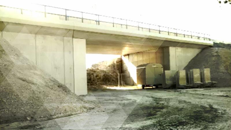 Brückenbau im Schnellverfahren (Foto: SAT.1 NRW)