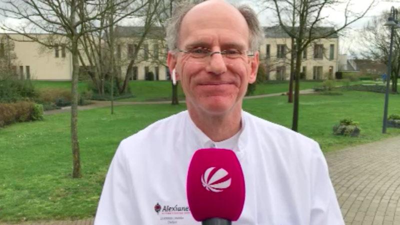 Dr. Andreas Leischker, Chefarzt Geriatrie Krefeld, zur Corona-Gefahr (Foto: SAT.1 NRW)
