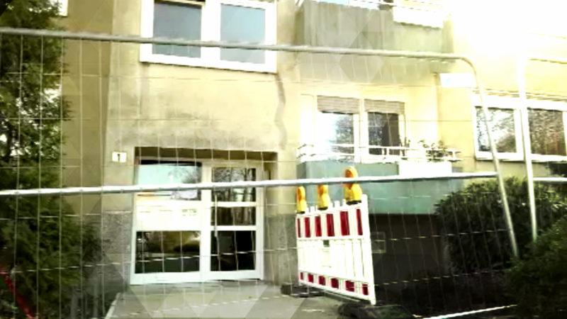 Haus einsturzgefährdet (Foto: SAT.1 NRW)