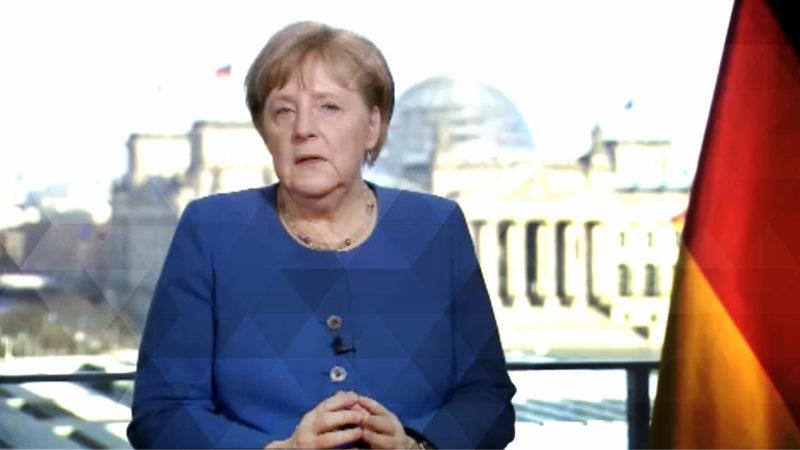 Appell der Bundeskanzlerin (Foto: SAT.1 NRW)