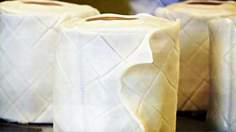 Bäckerei lockt mit Klopapier (Foto: SAT.1 NRW)