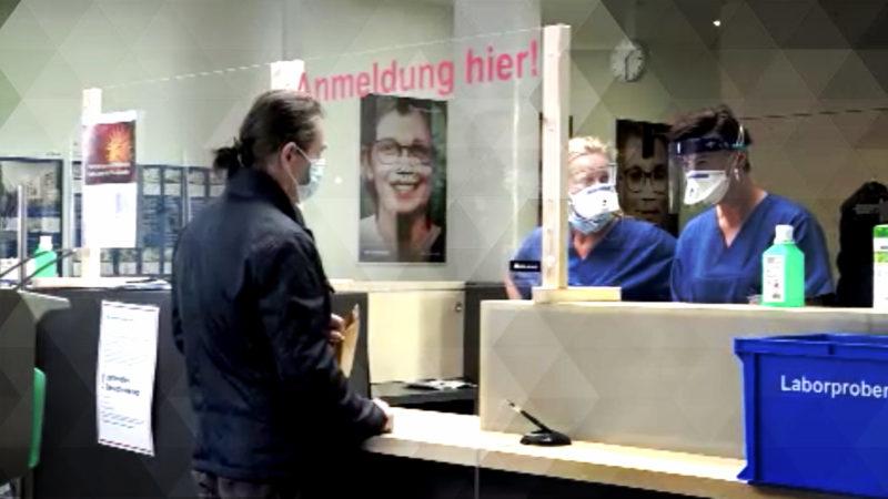 Corona - Wie gut sind unsere Kliniken gerüstet? (Foto: SAT.1 NRW)