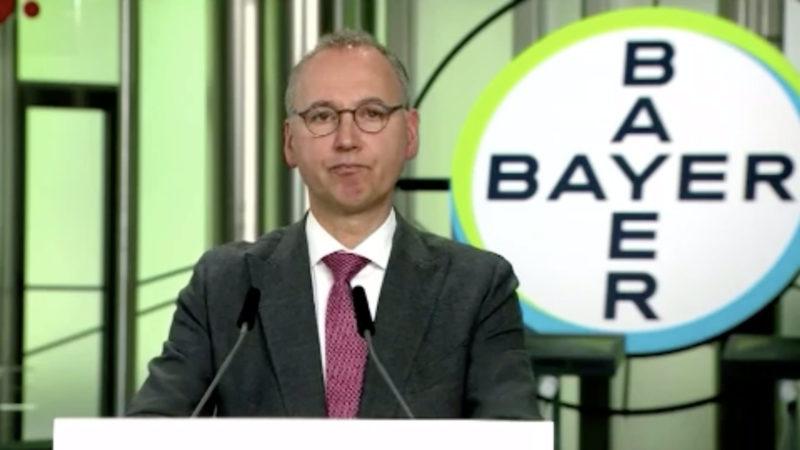 Bayer: Digitale Hauptversammlung (Foto: SAT.1 NRW)