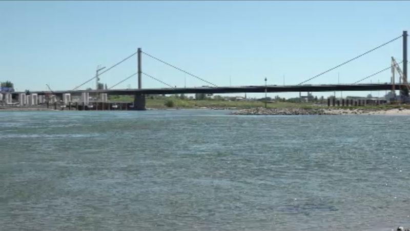 Bauvertrag für Rheinbrücke gekündigt (Foto: SAT.1 NRW)