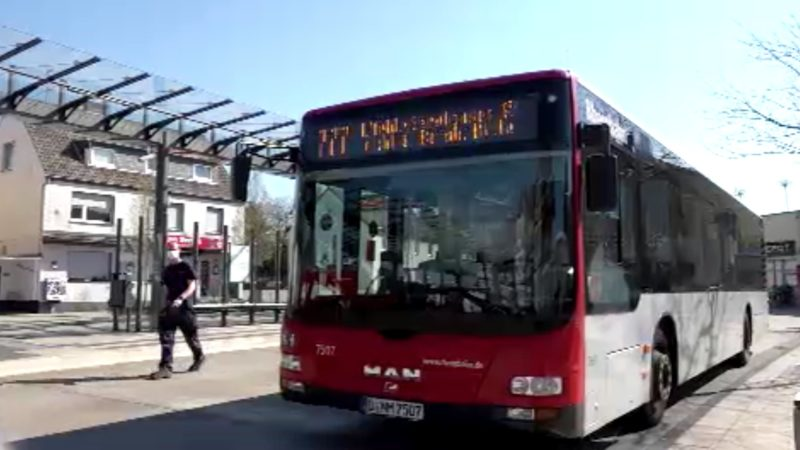 Bußgeld für Masken-Verweigerer in Bus und Bahn (Foto: SAT.1 NRW)