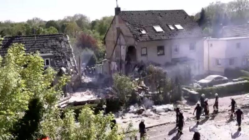 Explosion in Köln - Unfall oder Absicht? (Foto: SAT.1 NRW)