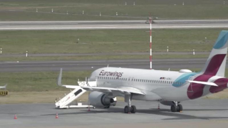 Weniger Flugverkehr in NRW (Foto: SAT.1 NRW)