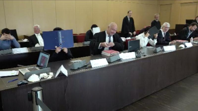 Automatenknacker vor Gericht (Foto: SAT.1 NRW)