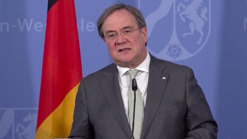Laschet startet Wahlkampf (Foto: SAT.1 NRW)