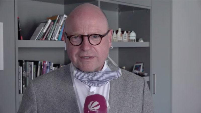 Münster Oberbürgermeister zur Maskenpflicht (Foto: SAT.1 NRW)