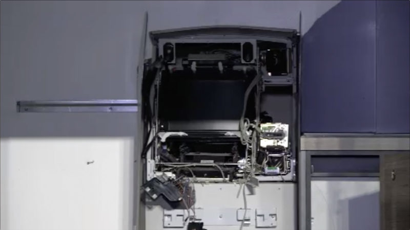 Rentner verfolgt Automaten-Sprenger (Foto: SAT.1 NRW)