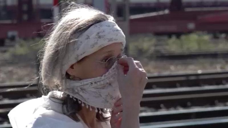 Reaktionen auf Maskenpflicht (Foto: SAT.1 NRW)