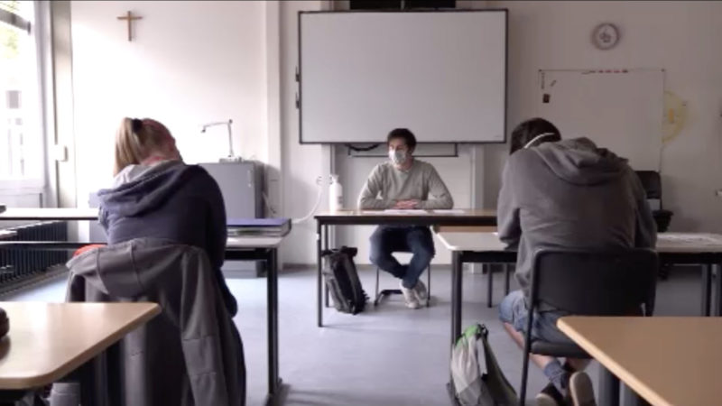 Schulen öffnen schrittweise (Foto: SAT.1 NRW)