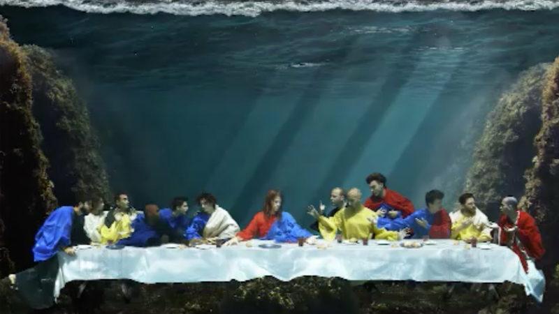 Berühmte Bilder unter Wasser (Foto: SAT.1 NRW)