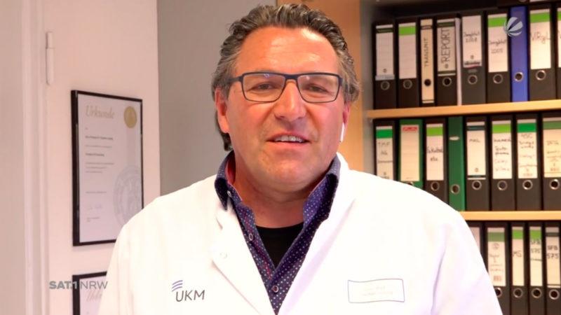 Virologe Stephan Ludwig zu Corona-Lockerungen (Foto: SAT.1 NRW)