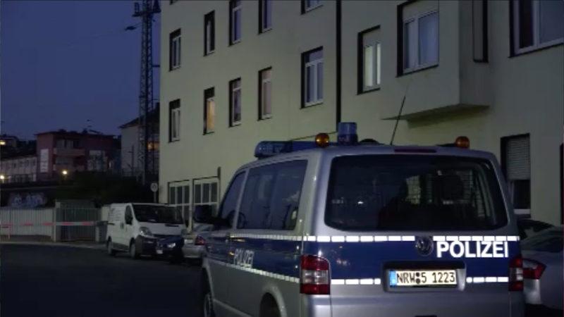 Bewohner stehen unter Zwangsquarantäne (Foto: SAT.1 NRW)