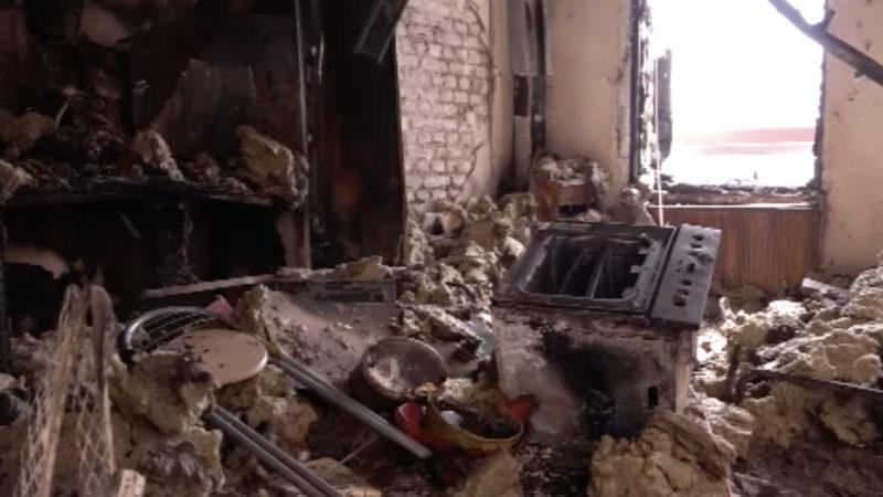 Akku setzt Wohnung in Brand (Foto: SAT.1 NRW)