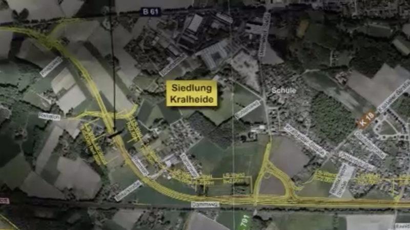Protest gegen Autobahn (Foto: SAT.1 NRW)