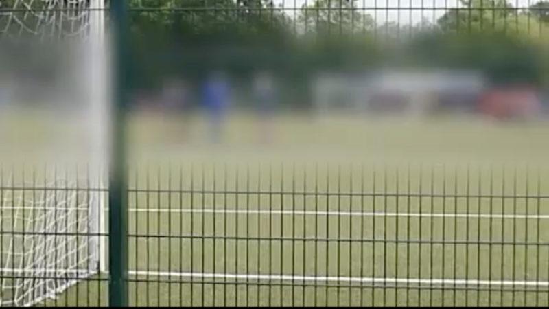 Fußballer treffen sich zu illegalem Turnier (Foto: SAT.1 NRW)