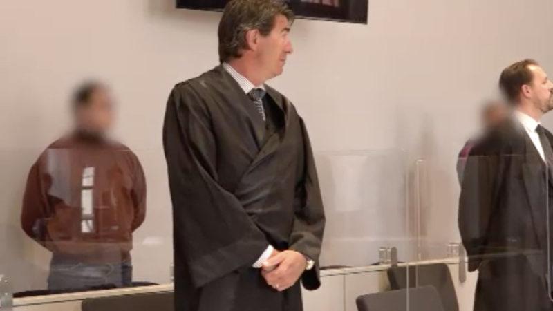 Juwelierraub vor Gericht (Foto: SAT.1 NRW)