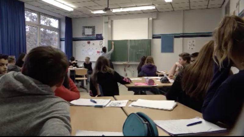 Zeugnis für die Schulpolitik (Foto: SAT.1 NRW)