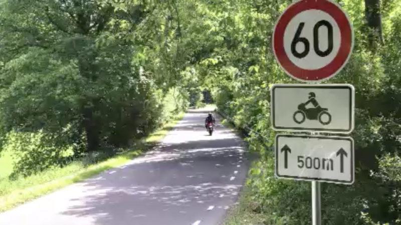 Tempolimit nur für Motorradfahrer (Foto: SAT.1 NRW)