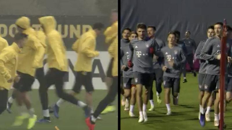 BVB empfängt Bayern (Foto: SAT.1 NRW)
