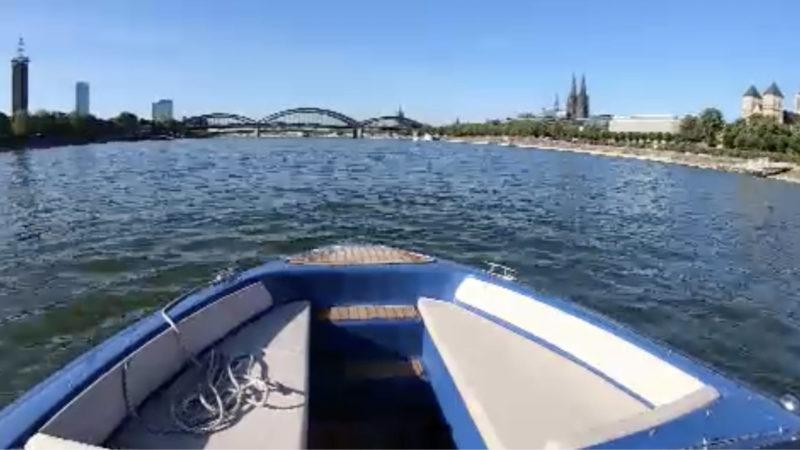 E-Speedboat (Foto: SAT.1 NRW)