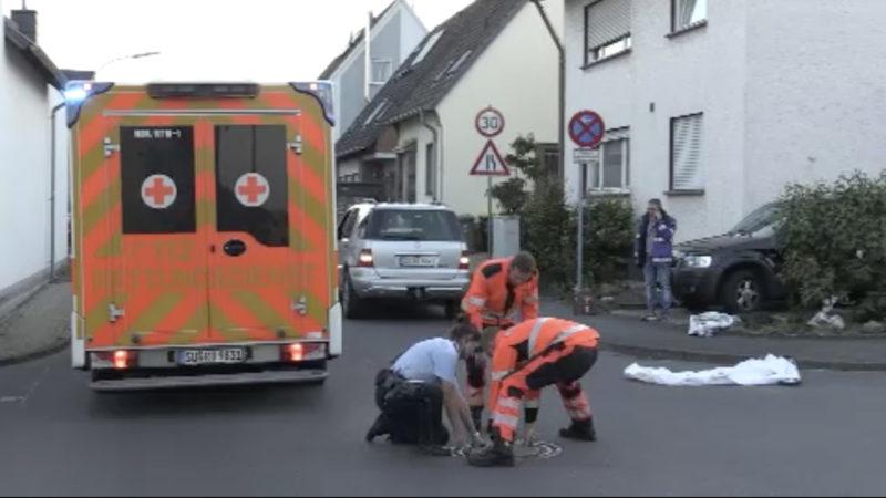 Tödlicher Unfall mit Tretroller (Foto: SAT.1 NRW)