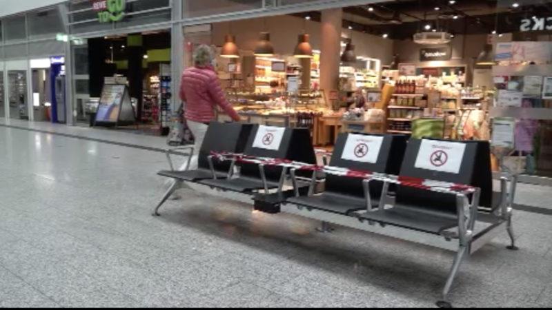 Neue Hygienemaßnahmen an Bahnhöfen (Foto: SAT.1 NRW)