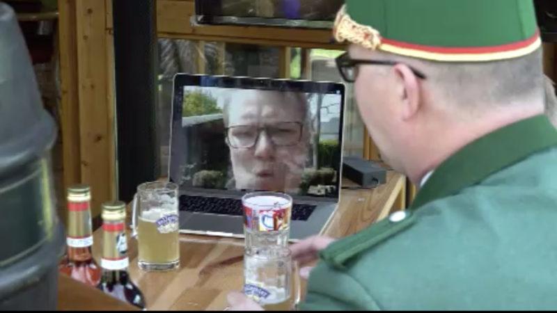 Virtuelles Schützenfest (Foto: SAT.1 NRW)