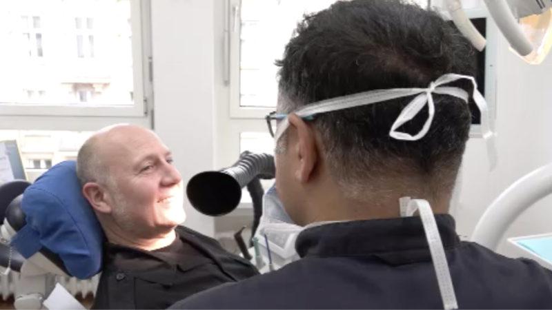 Zahnarzt erfindet Virussauger (Foto: SAT.1 NRW)