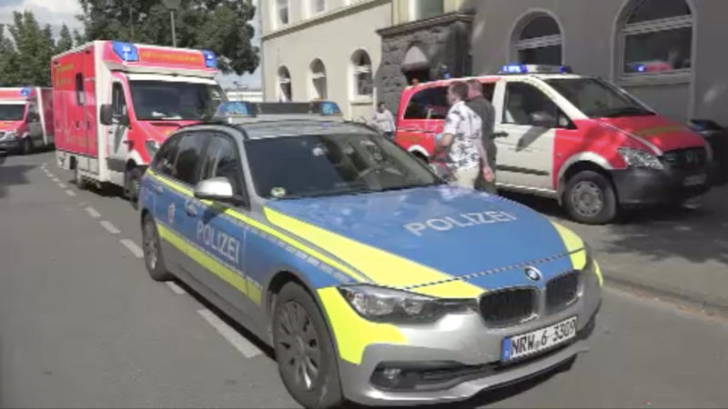 Unfall mit 4-jährigem Mädchen lößt Tumult aus (Foto: SAT.1 NRW)